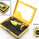 R'DEER 34PCS MULTI-FUNCTION RATCHET SCREWDRIVER BIT SET (RD9172)