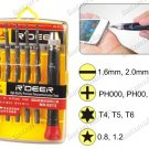 11-IN-1 PRECISION SCREWDRIVER SET FOR IPHONE / IPAD MACBOOK (RD9213)