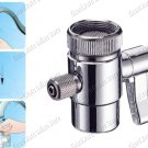 "1-Way Water Filter Diverter Valve Compression Fit 1/4"" Tube (DVB14QC)"