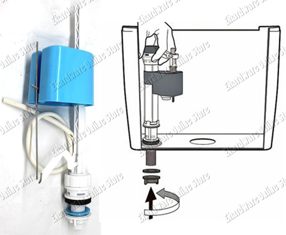 Universal Toilet Cistern Adjustable Bottom Entry Fill Valve (PB511)