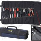 Compact Roll-Up Carry Tool Pouch With 22 Pockets & 15 Holder (PT-N028)
