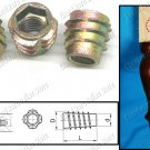 FURNITURE E-NUT INSERT M6X16MM (EWIN6X16)