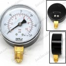 PNEUMATIC PRESSURE GAUGE BASE ENTRY 63MM 0-10BAR (B63-10)