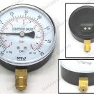 100mm Dial Boost Vacuum Compound Gauge 100mm -30 +130Psi (BV100-9)