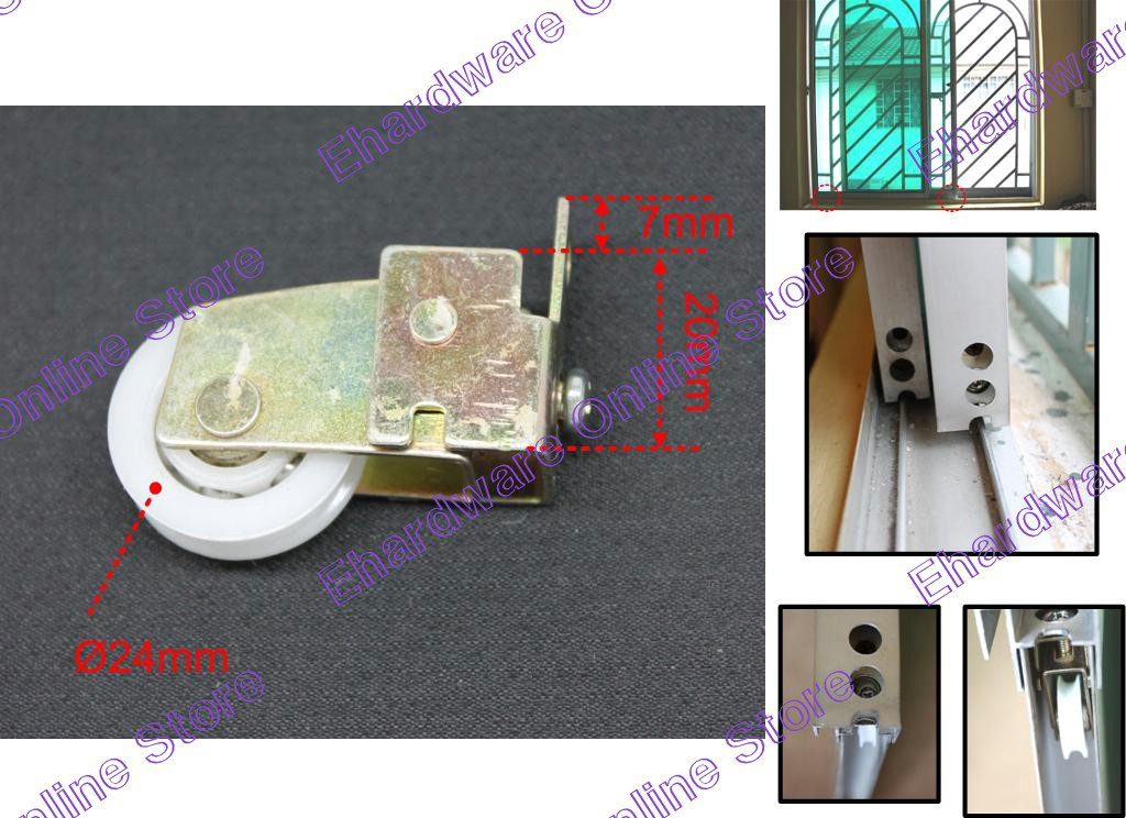 Aluminium Frame Sliding Glass Window Roller Wheel (EZ802)