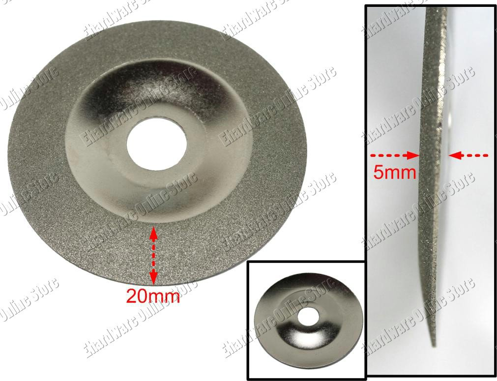 "Diamond Coated Cutting Grinding Wheel 4"" (DCW0402)"