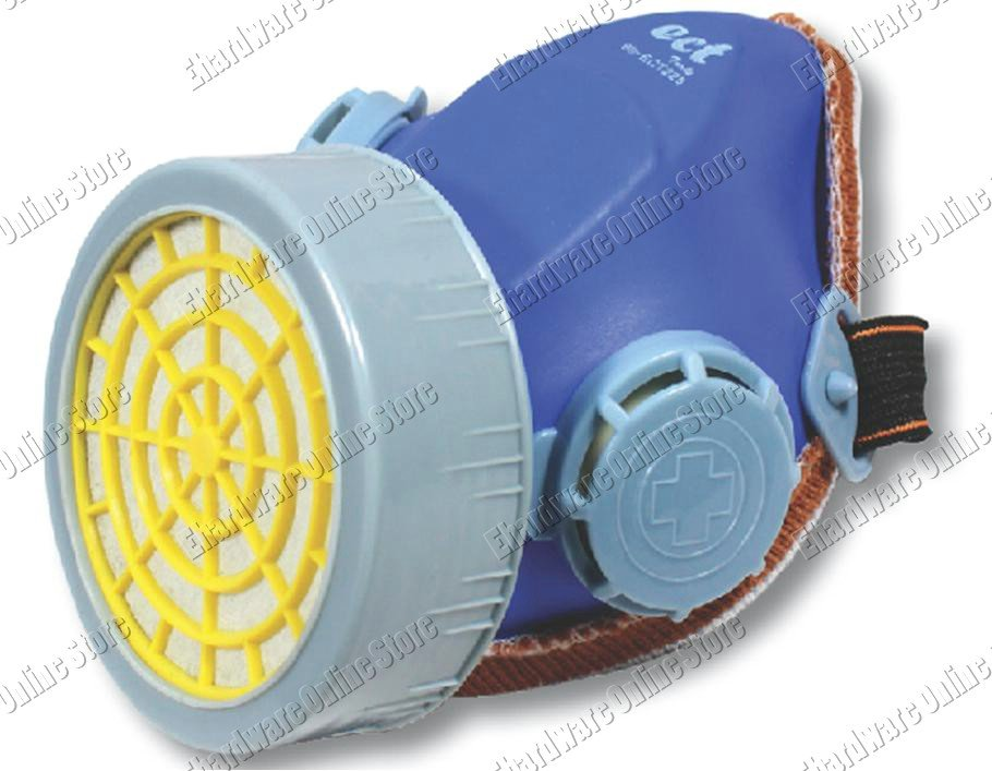 Single Cartridge Holder Respirator Mask With Cartridge (99ECT225)