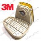 3M 6006 Respirator Multi Gas Vapor Cartridge (2Pcs/Pack) (3M6006)