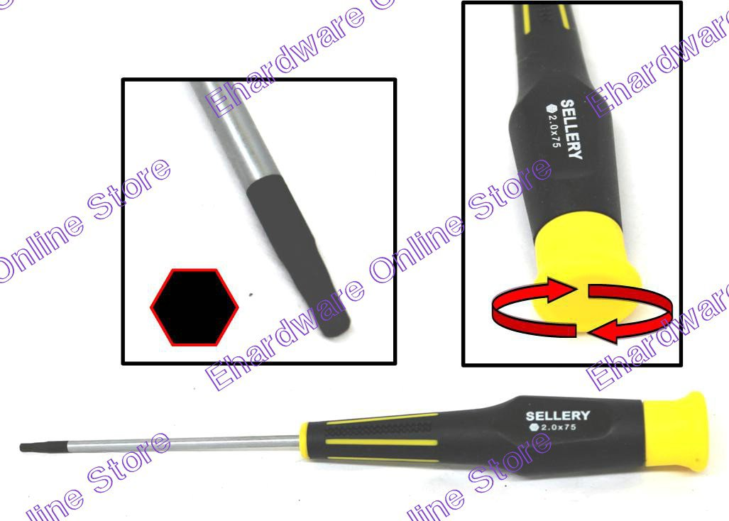 SELLERY - Hex Key Precision Screwdriver 3.5mm