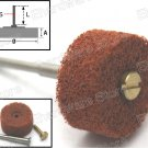 Non-Woven Spindle Mounted Wheels 22mm With 3mm Shank 10Pcs/Pack (MSWNP3-22C)
