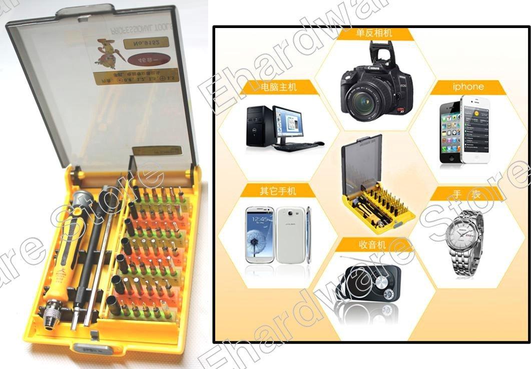 46in1 Precision Screwdriver Set With Pentalobe Iphone Macbook (RD9152)