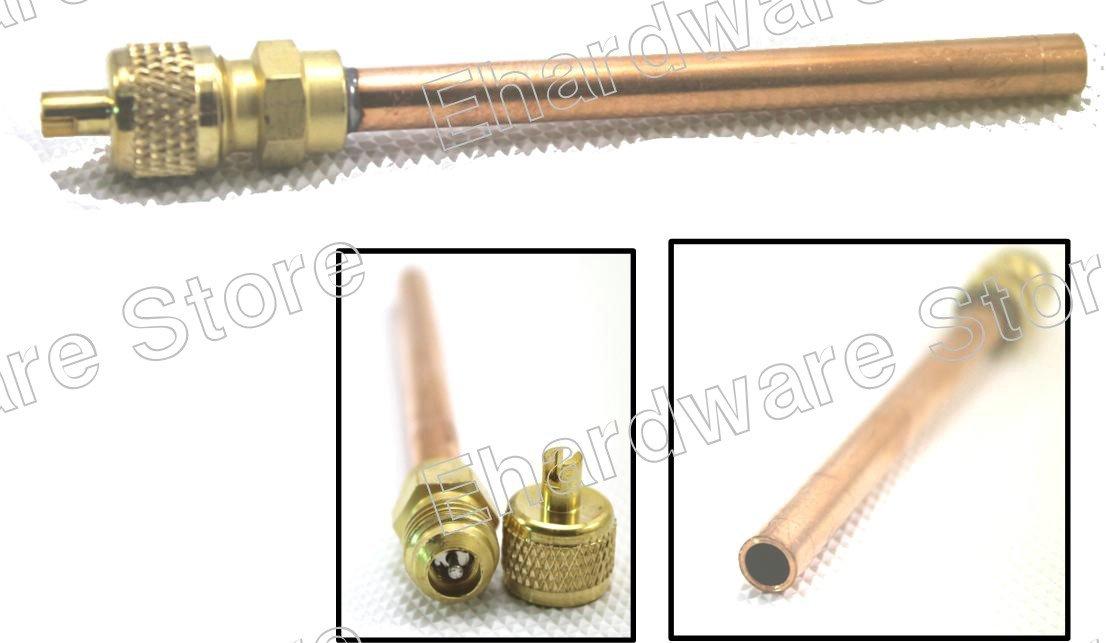 "HVAC Access Valve With Copper Tube Extension 1/4"" (SU-04)"