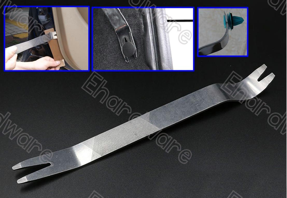 Extra Strong Stainless Steel Car Trim Panel Removal Tool Pry Bar (PPB240)