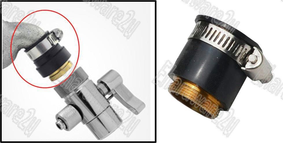 Universal External Faucet Adapter A11hh