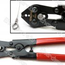 """WIRE ROPE CUTTING AND SWAGING CRIMPING TOOL 8"""" (TD1002C-8)"""