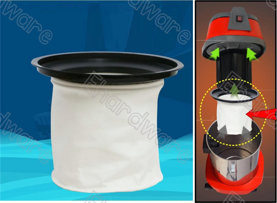 Wet Dry Vacuum Cleaner 5Micron Cloth Tank Filter (WDV300)