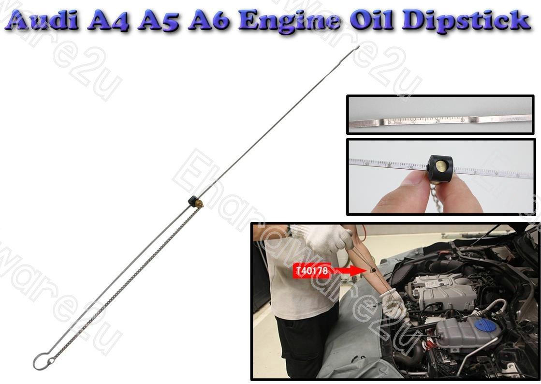 audi a4 a5 a6 engine oil dipstick gauge t40178 4824. Black Bedroom Furniture Sets. Home Design Ideas