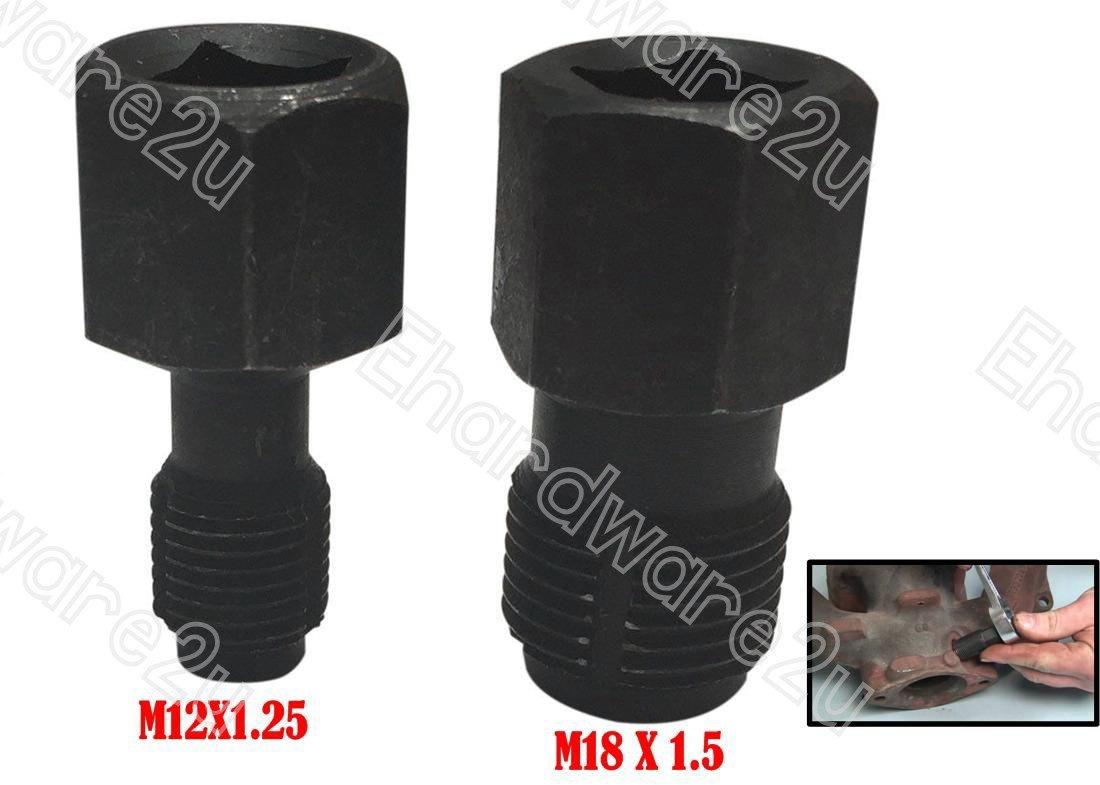 2Pcs Oxygen Sensor Ports Thread Chaser M12 & M18 (1617-2)