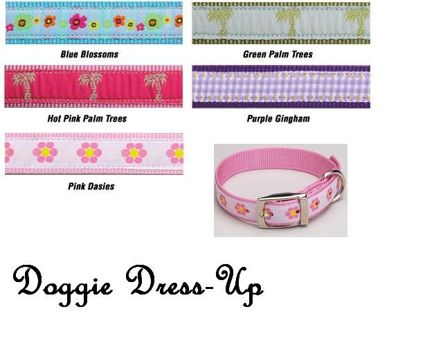 Fashion Dog Collars (SM) 8-12in