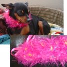 Fuzzy Diva Dog Collar Custom Made (xsm)