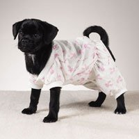 Dog Pajamas PJs PINK! (XSM) Clothes Bunny Hop