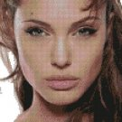 Counted Cross Stitch Kit - ANGELINA JOLIE