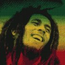 Counted Cross Stitch Kit - BOB MARLEY #4