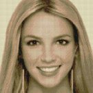 Counted Cross Stitch Kit - BRITNEY SPEARS #1