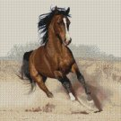 Counted Cross Stitch Kit - ARABIAN HORSE