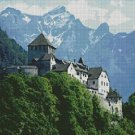 Counted Cross Stitch Kit - CASTLE ON MOUNTAIN