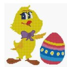 Counted Cross Stitch Kit - EASTER CHICK