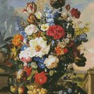 Counted Cross Stitch Pattern - FLOWER STILL LIFE