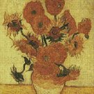 Counted Cross Stitch Kit - FOURTEEN SUNFLOWERS - by Vincent Van Gogh