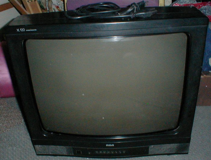 Rca Xl100 26 Inch Color Tv Stereo Monitor Crt Type