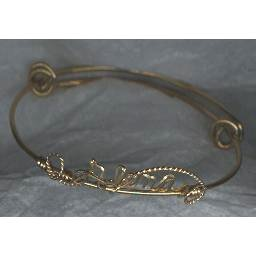 Vintage GOLD Filled Script NAME BRACELET * ALENA *