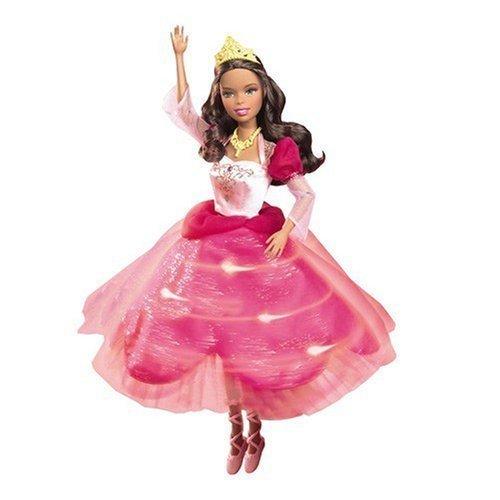 Interactive Princess Genevieve Barbie Doll 12 Dancing Princesses