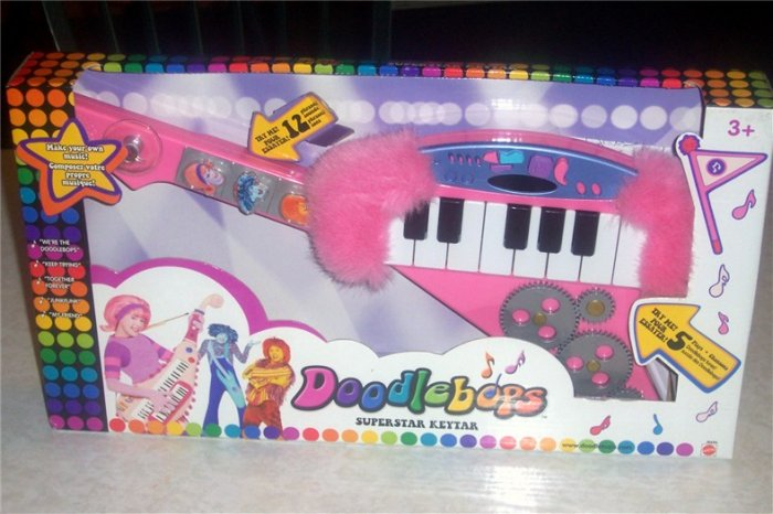 Doodlebops Superstar Keytar  Guitar Deedee NEW