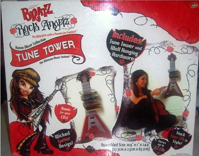 Bratz Tune Tower CD Holder