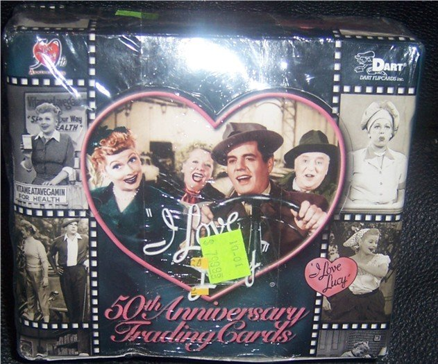 I Love Lucy 50th Anniversary Trading Cards NEW