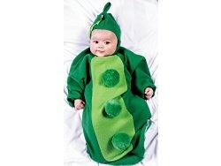 Pea Pod Bunting Baby Costume Halloween NEW