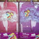 Disney Princess Set of 2 Glamour Shoes Pink & Purple