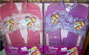 Disney Princess Set of 2 Glamour Shoes Pink & Purple