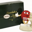 Department 56 Red is my Favorite Color M&M's Figurine Snowbabies