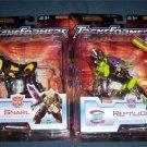 Transformers Universe Figures Snarl & Reptilion Set