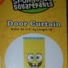 Spongebob Squarepants Yellow Door Curtain