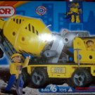 Erector Cement Mixer Builds 6 Toys Motor NEW 2 Figures