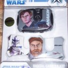 Star Wars Digital Camera Kit NEW 3 Face Plates Obi Wan
