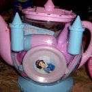 Disney Princess Castle Teapot Teaset NEW Cinderella Snow White Sleeping Beauty Belle