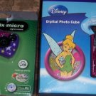 Tinker Bell Micro Digital Camera + Digital Photo Cube