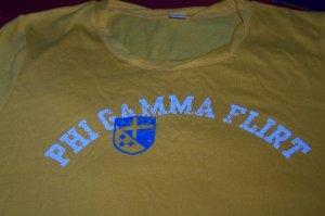 Disney Store Phi Gamma Flirt T-Shirt Juniors XL
